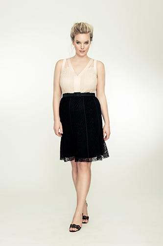 f8700ae8f5c Isabel Toledo for Lane Bryant. Stretch Lace Cocktail Dress