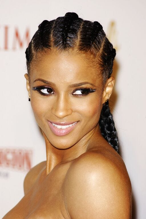 Box Goddess Braid Celebrity Hairstyles