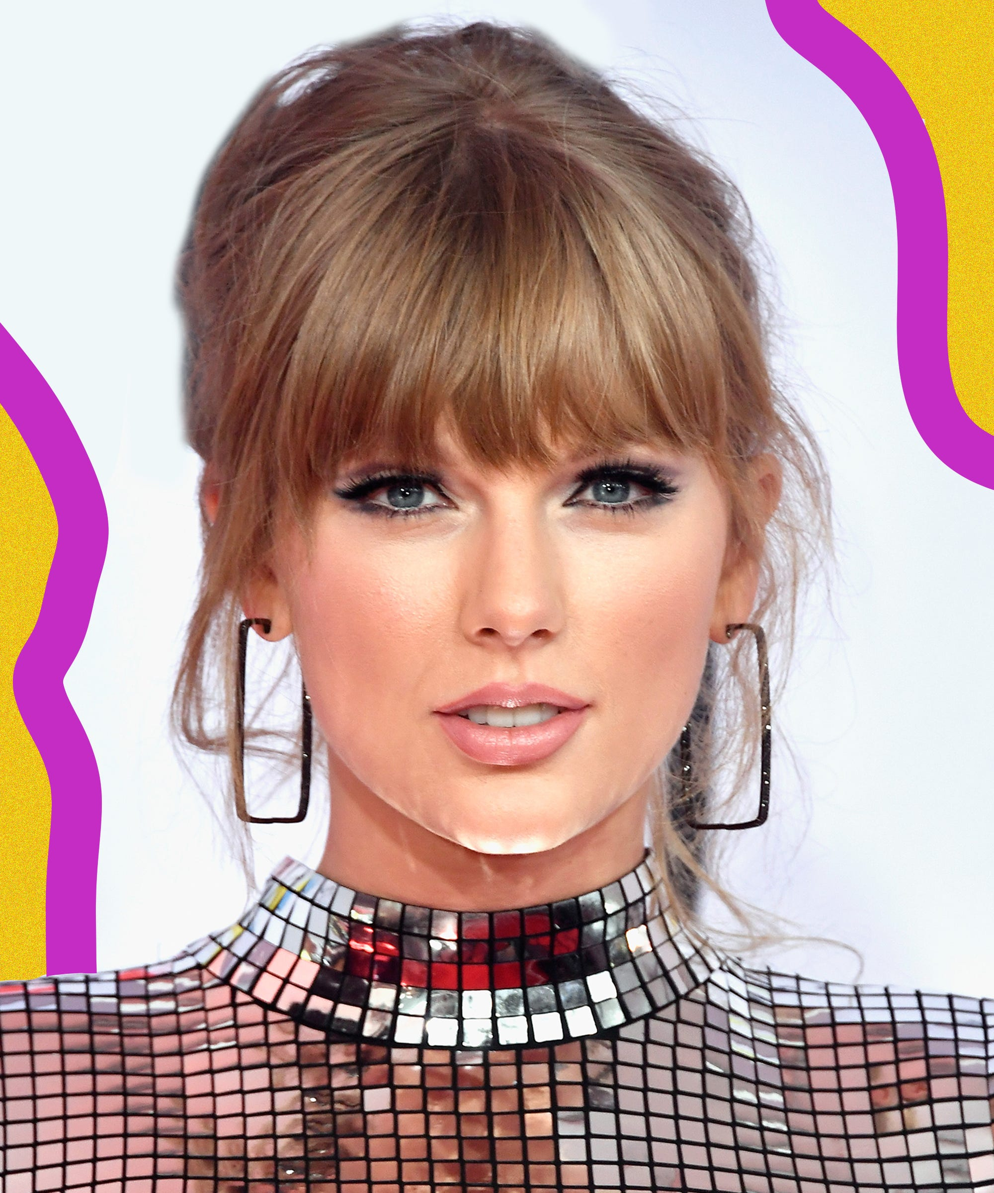 Taylor Swift 2018 Amas Makeup And Hair Cat Eye