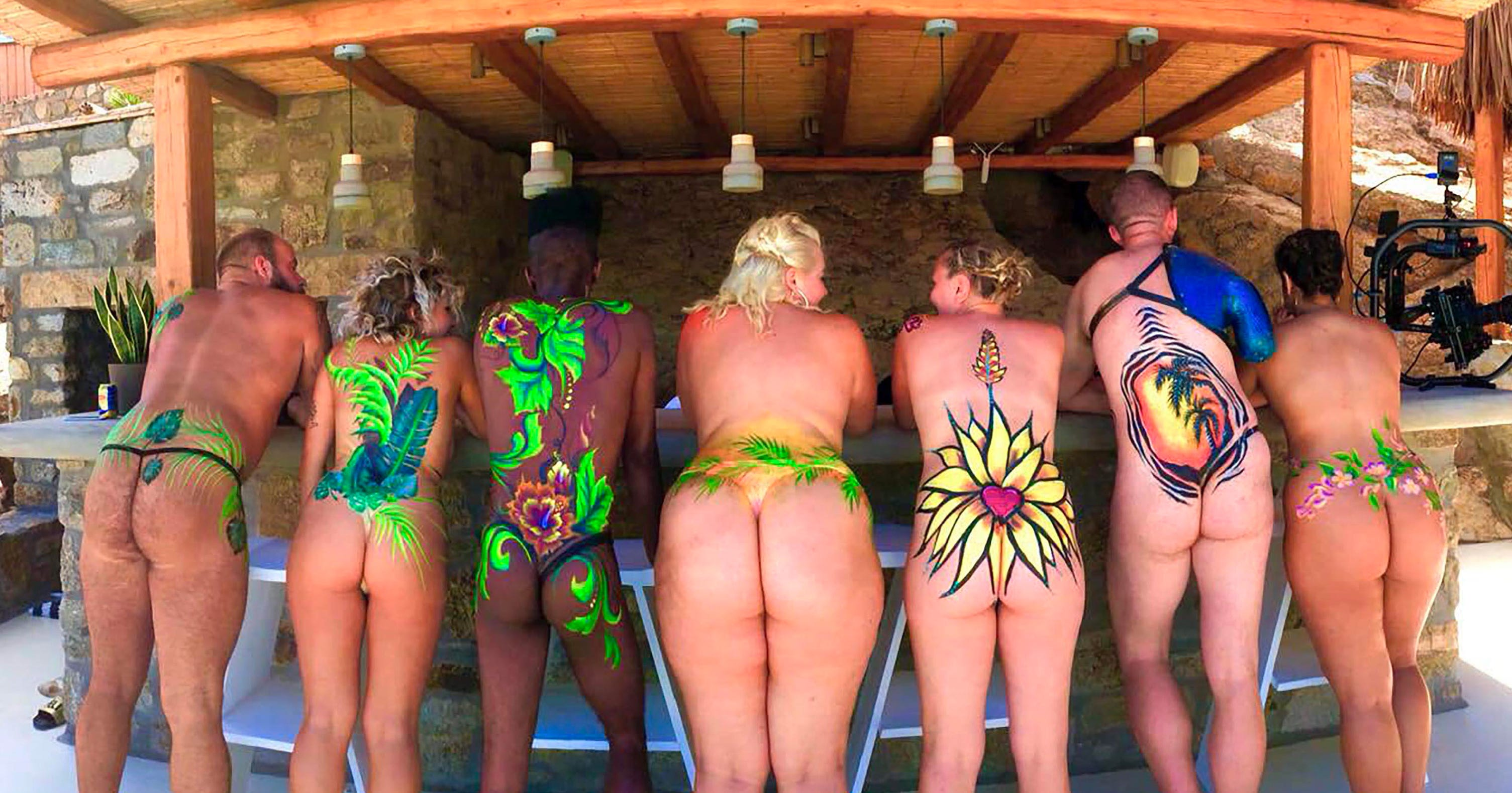 Inside magaluf's outrageous naughty naked boat party where everybody pulls