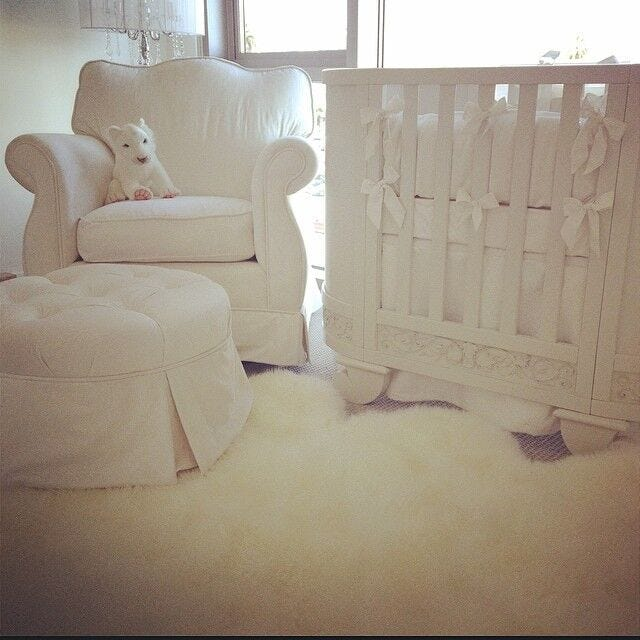 Celebrity Design Reveal Kendra Wilkinson S Nursery: Celebrity Nurseries Kim Kardashian