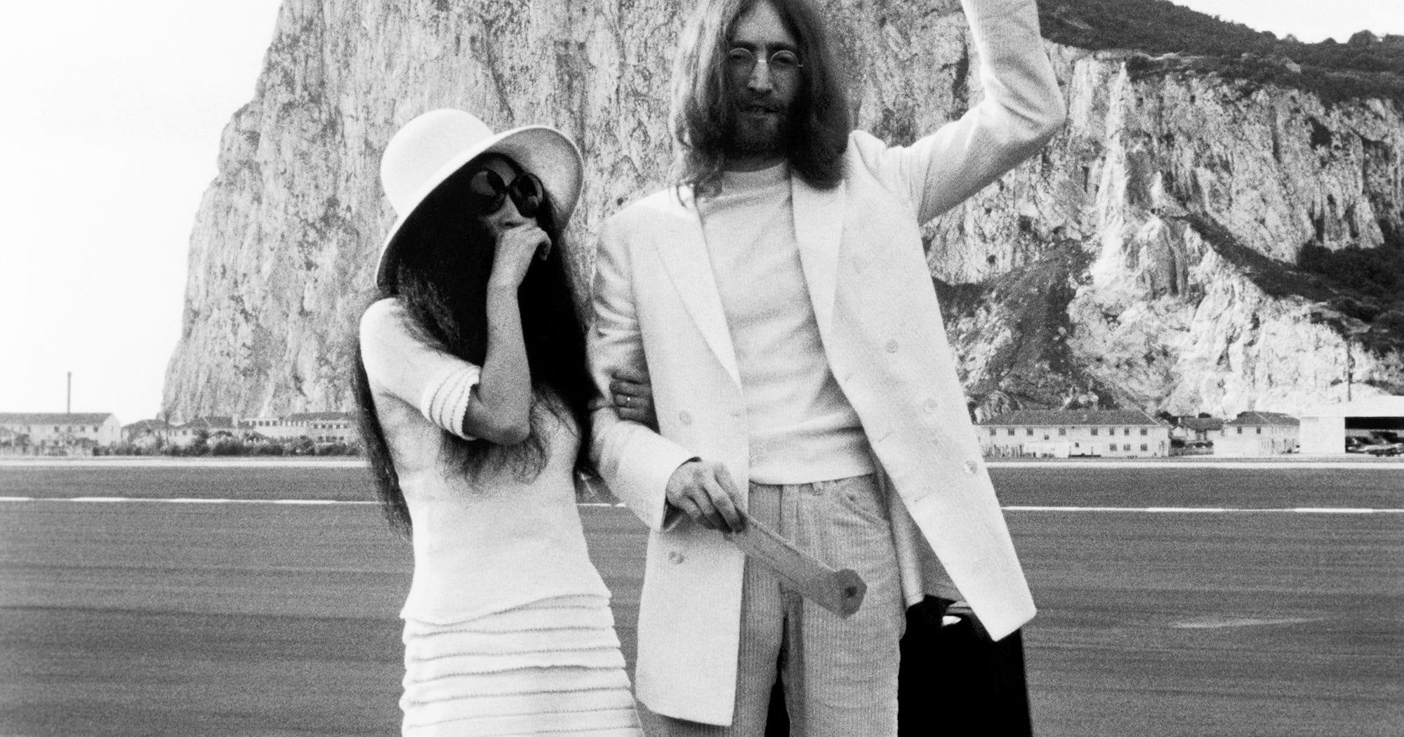 John Lennon Yoko Ono Wedding Day