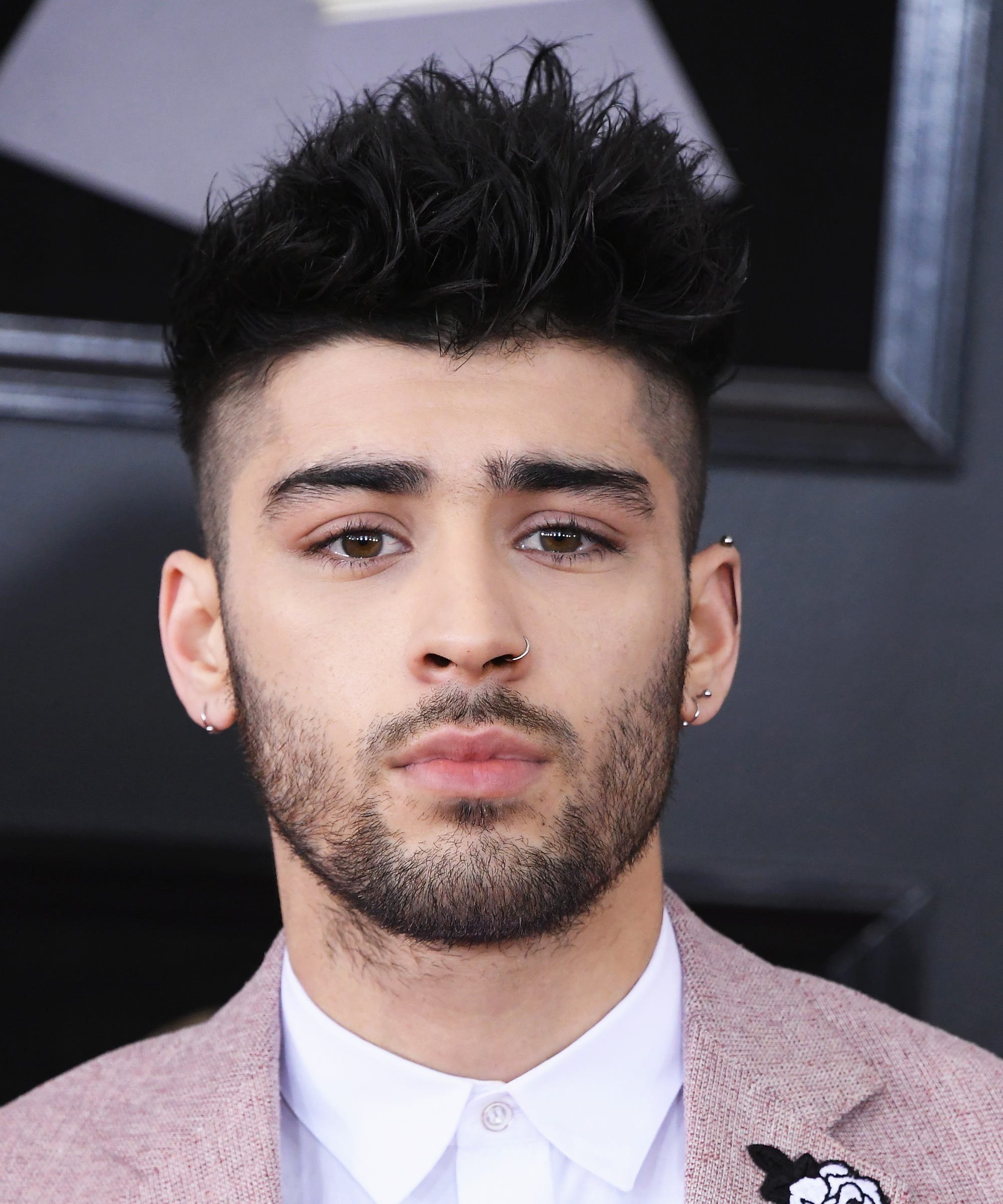 Zayn Malik Blonde Hair Beard After Gigi Hadid Breakup