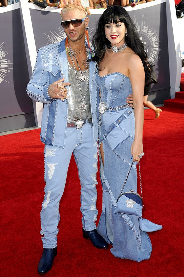 Britney Spears Talks Katy Perry Vma Denim Outfit