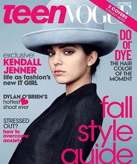 Kendall Jenner Teen Vogue Cover - September Issues