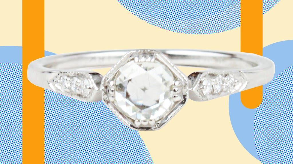 Where To Buy Gorgeous Vintage Engagement Band