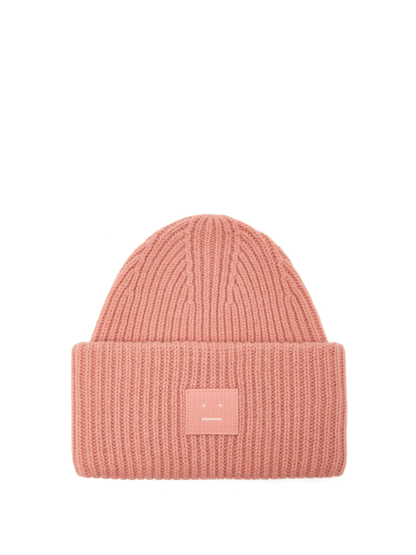 4d1e1378882 Acne Studios + Pansy N Face Ribbed-Knit Wool Beanie Hat