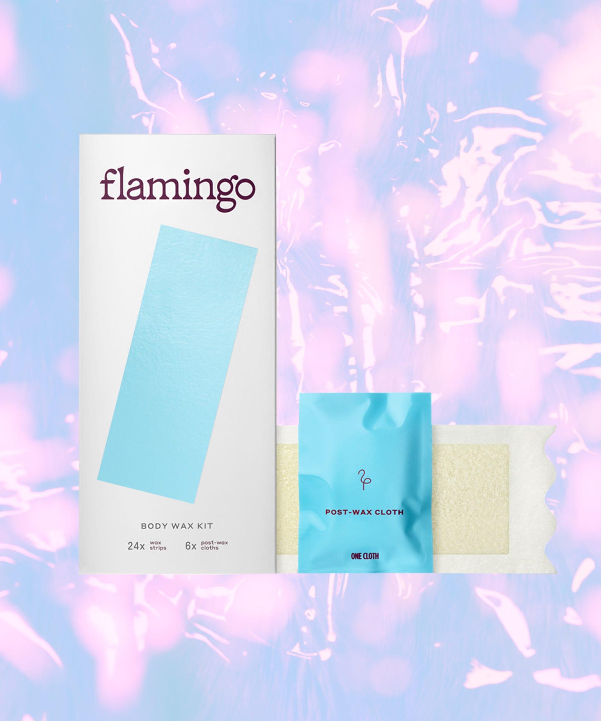 We Reviewed Flamingo S Cheap Body Face Wax Strip Kit