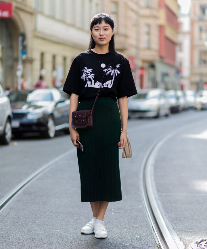 How To Wear Oversized T Shirt Outfits