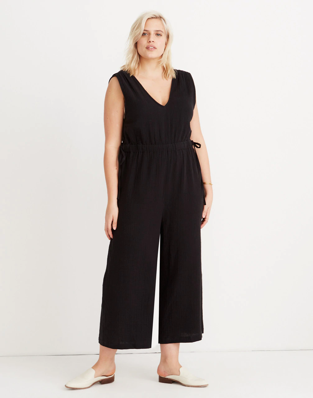 5ce348214df0d Madewell + Plus-Size Waikiki Cover-Up Jumpsuit