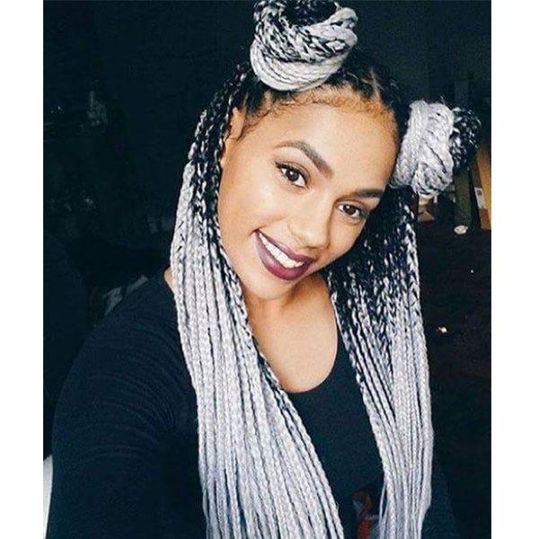 Box Braid Hairstyles | POPSUGAR Beauty