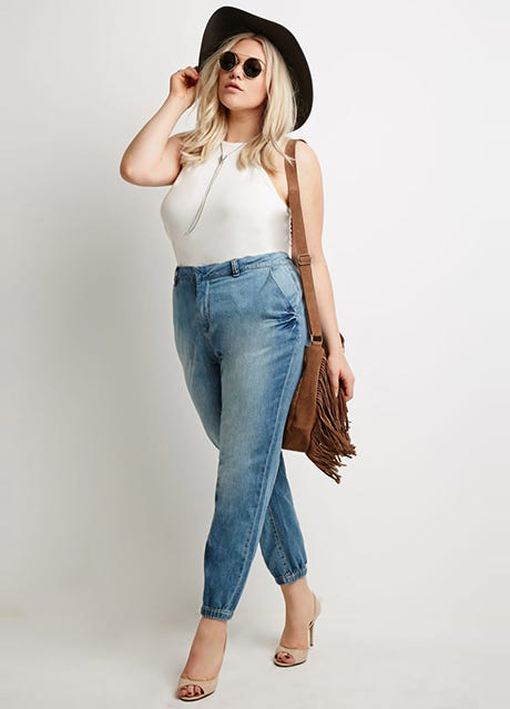Image result for CURVY GIRLS WEARING DENIM