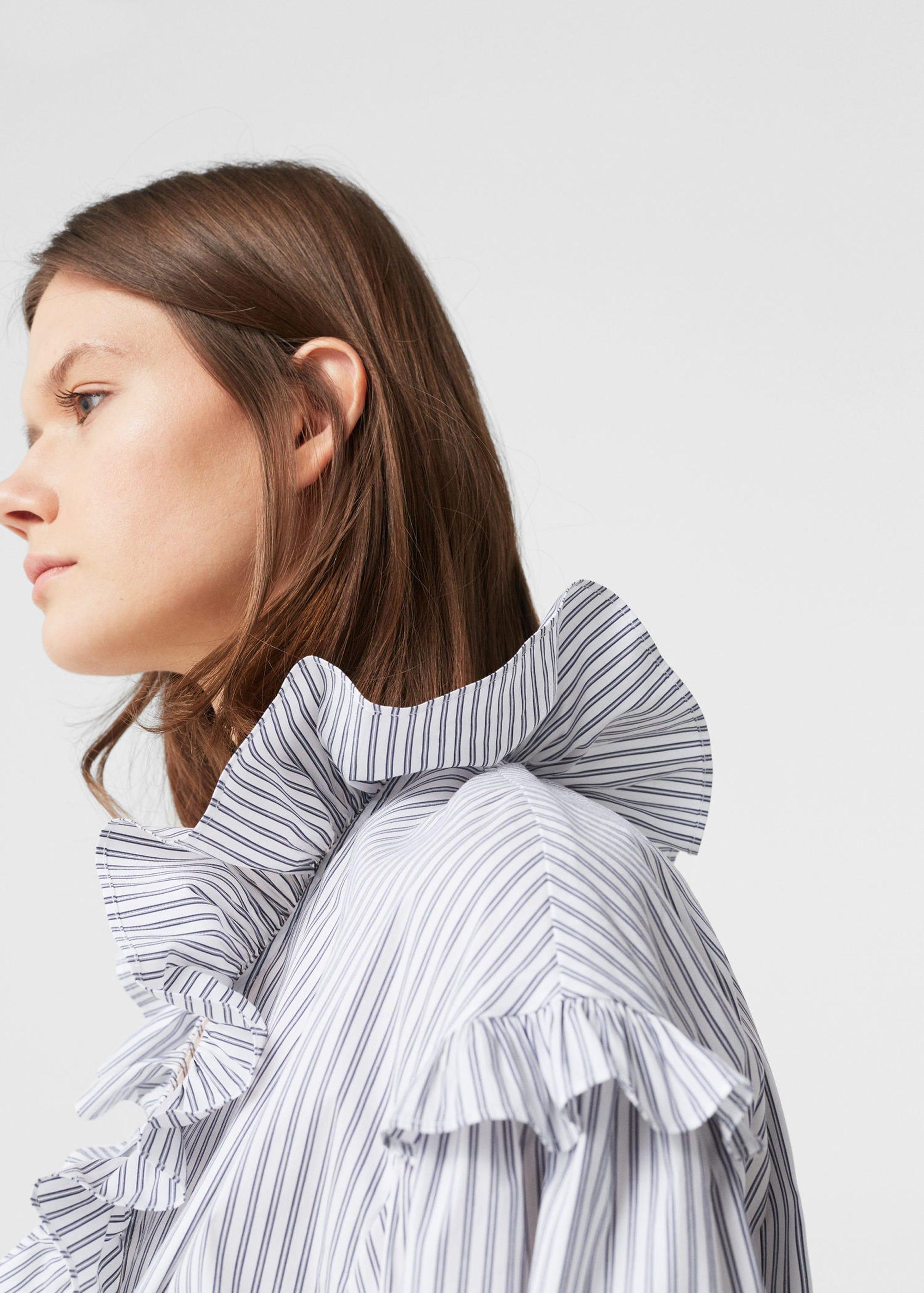 Ruffle Clothing Fashion Trend - How To Wear Ruffles