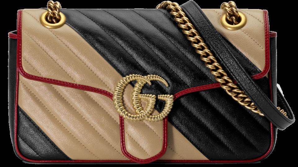 3e52a6c4c5b1 GG Marmont Small Shoulder Bag
