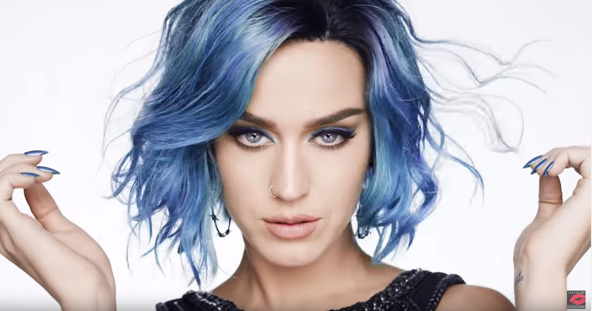 blue hair style blue hair color personal style 3169 | image