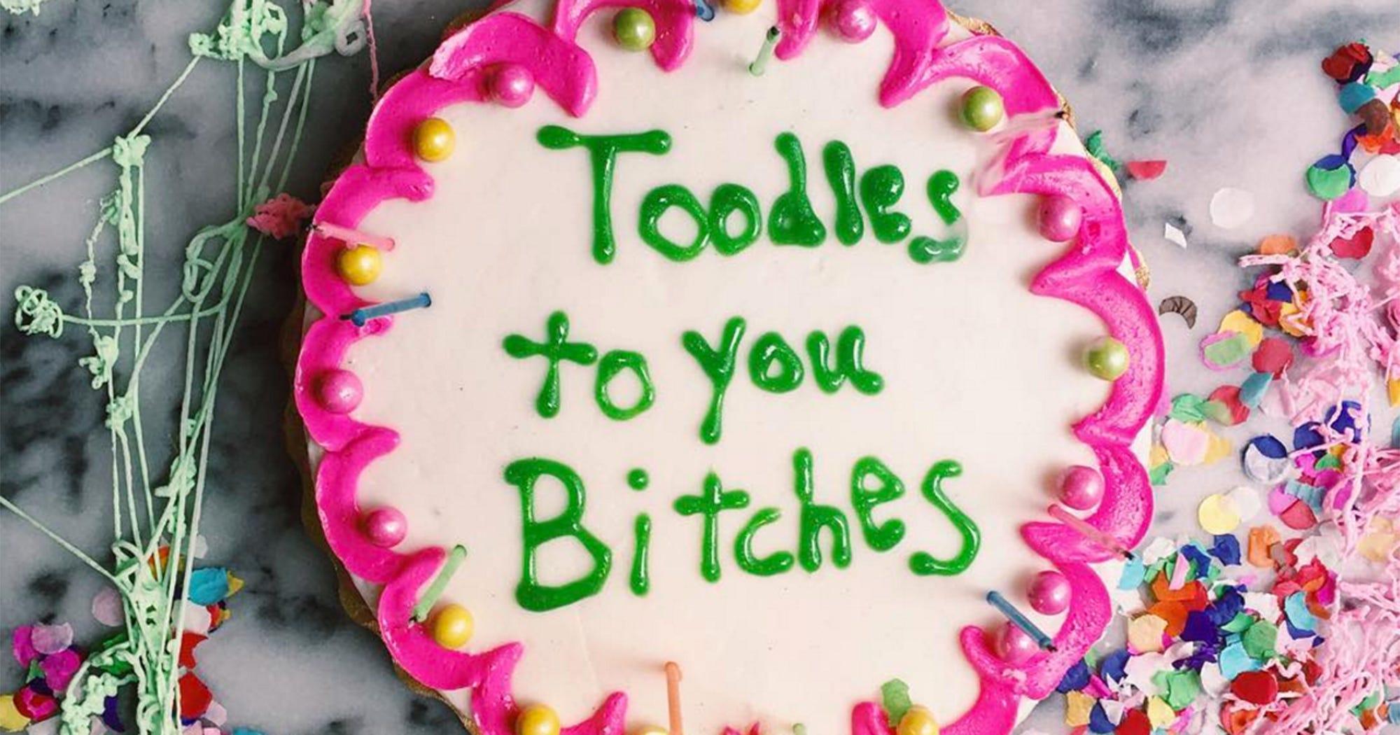 Admirable Drake Lyrics On Cake By Joy The Baker Funny Birthday Cards Online Alyptdamsfinfo