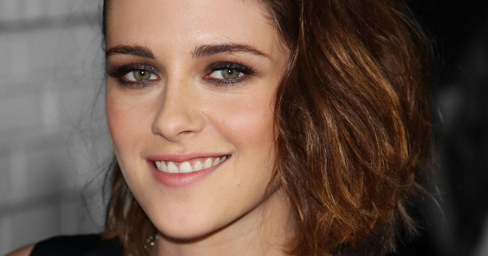 Kristen Stewart Platinum Blonde Hair