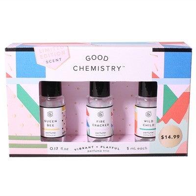 Good Chemistry Good Chemistry Rollerball Fragrance Gift Set