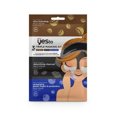 Triple Masking Kit - Hydrate, Detox, Recharge - 3pc