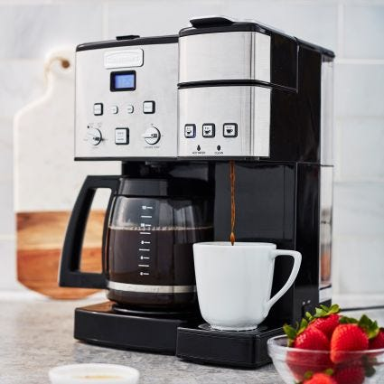 16c317fb3a6 Cuisinart + Cuisinart Coffee Center 12-Cup Coffee Maker and Single ...