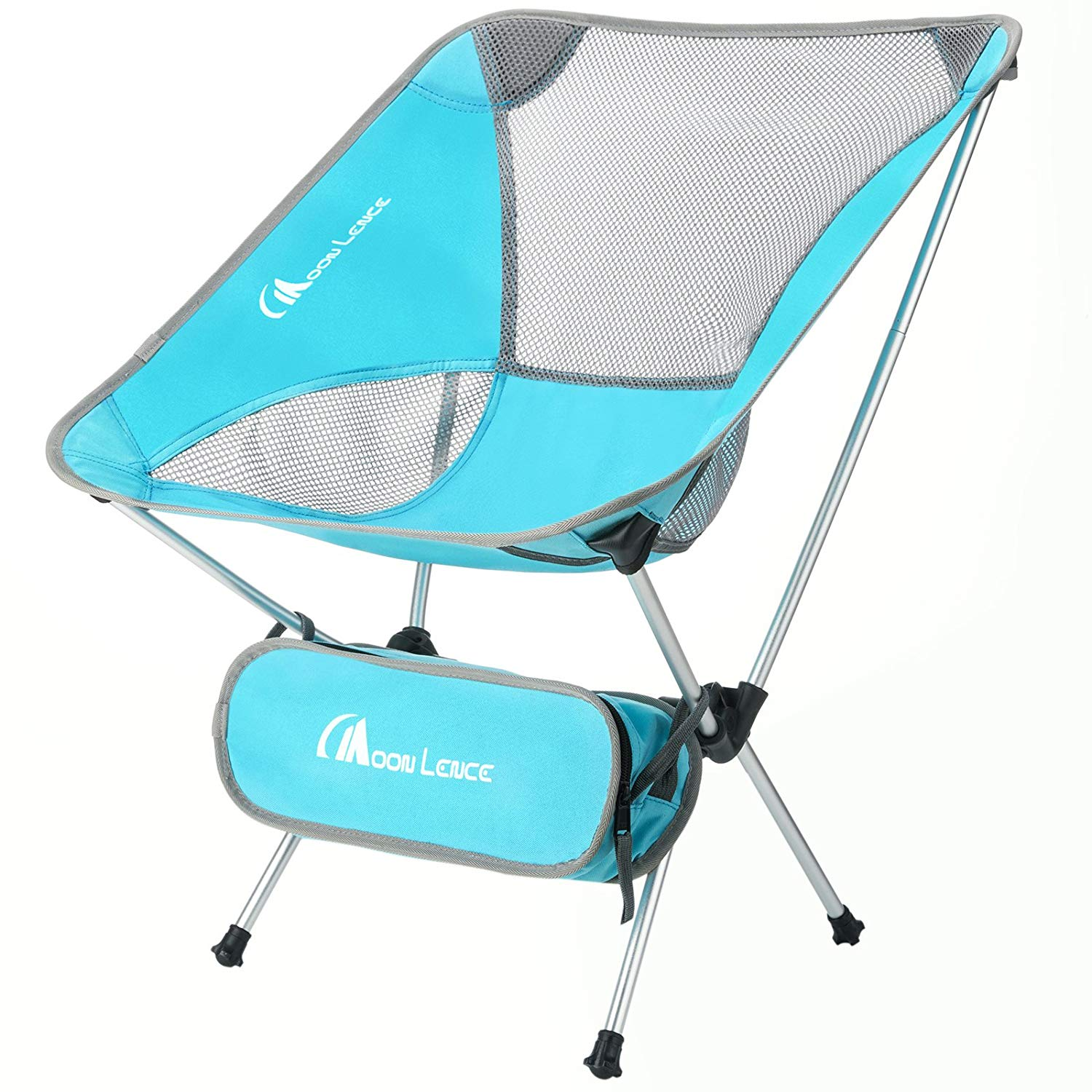 Ultralight Portable Folding Chair With Carry Bag