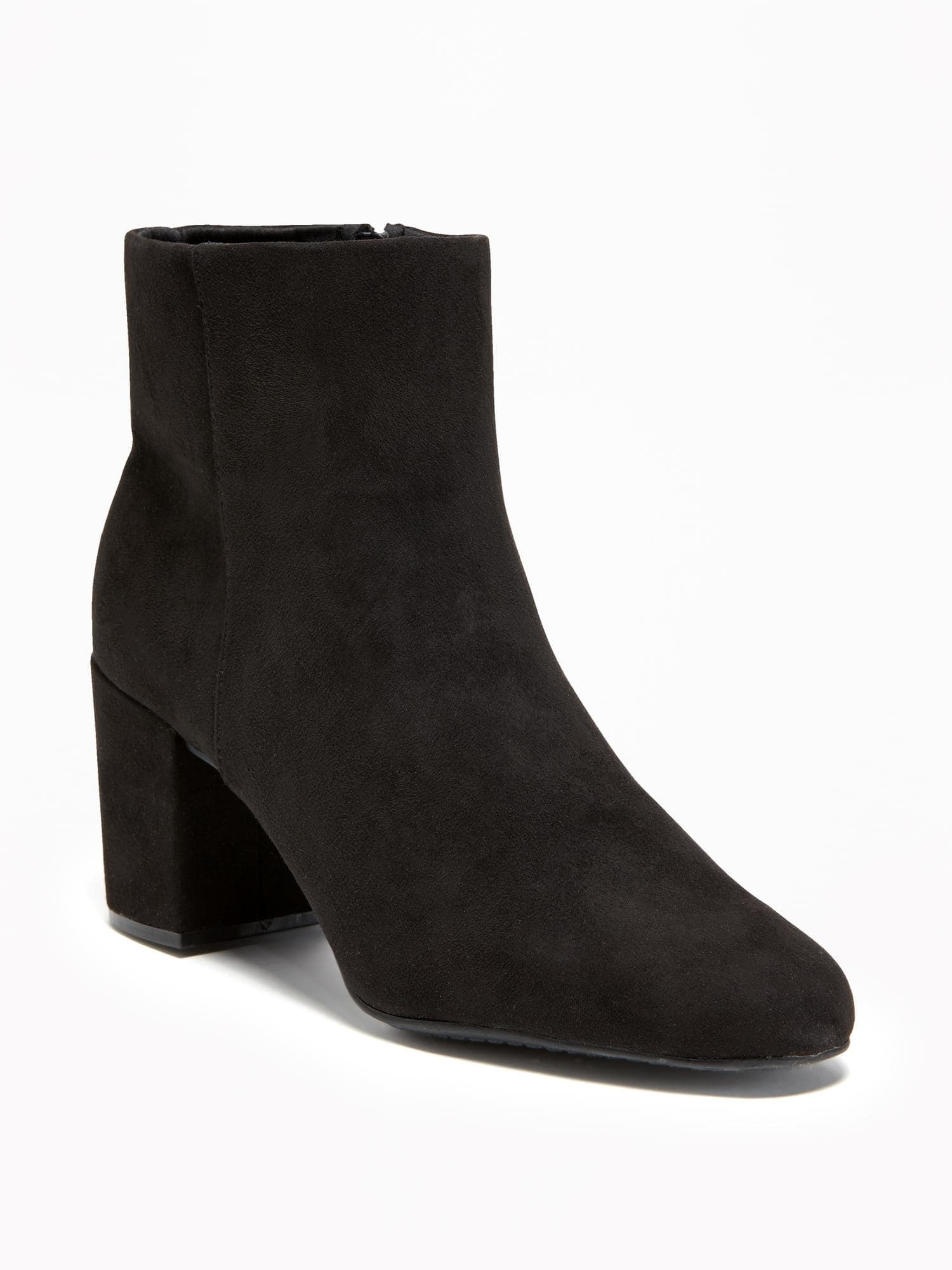 factory authentic buy best store Old Navy + Suede Ankle Boots For Women