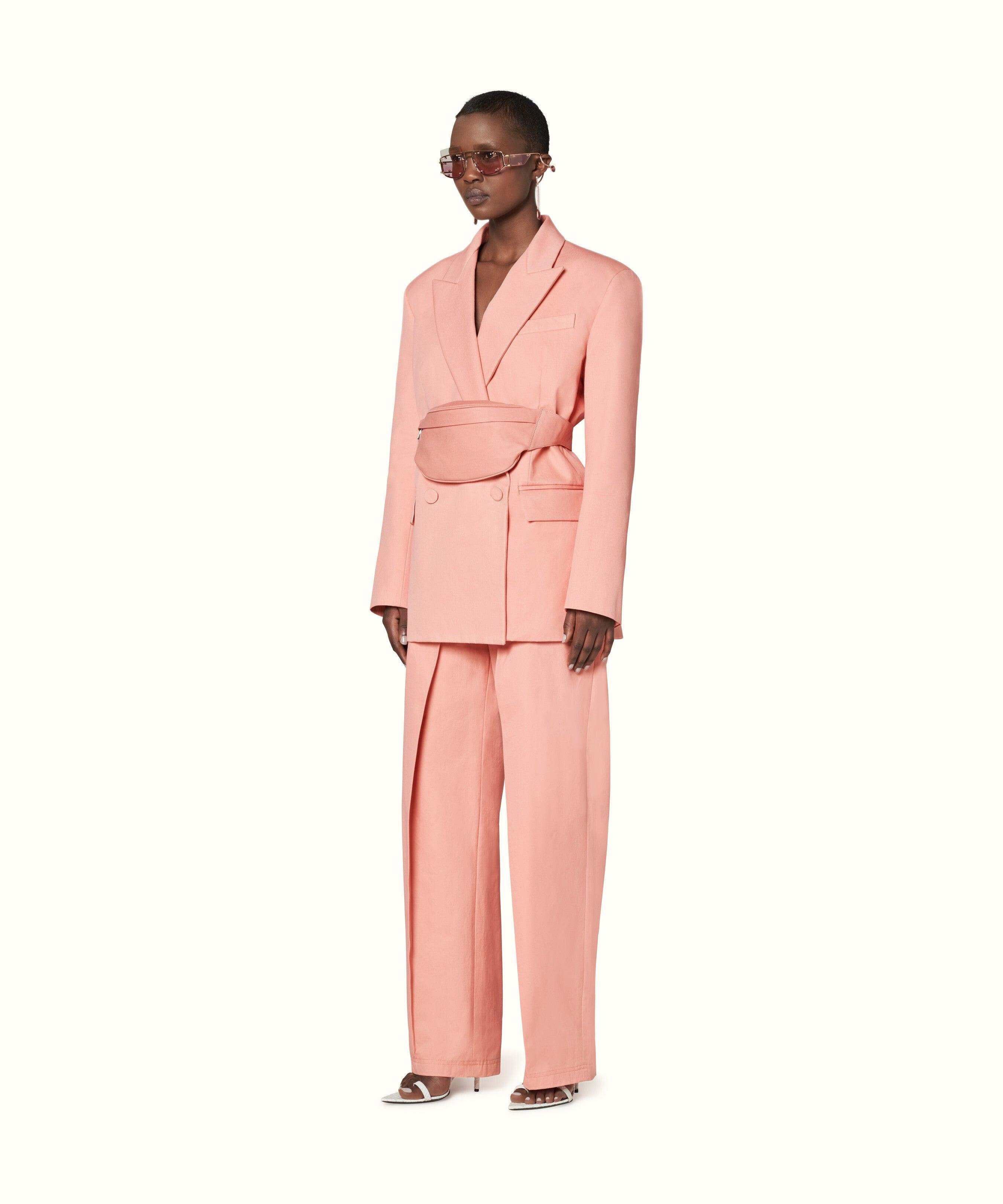 13927dd14165 Veronica Beard + Print Cotton Sateen Tuxedo Pants