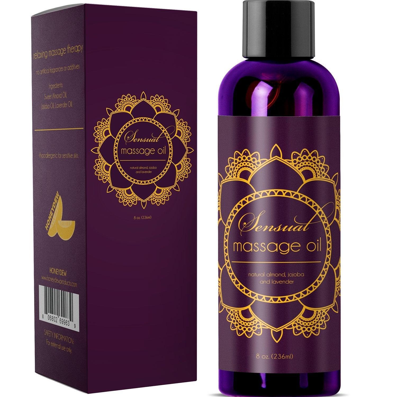 Maple Holistics + Honeydew Sensual Massage Oil with Pure