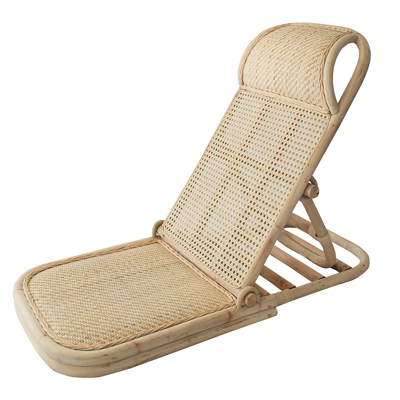 Outstanding Folding Rattan Beach Chair Cjindustries Chair Design For Home Cjindustriesco