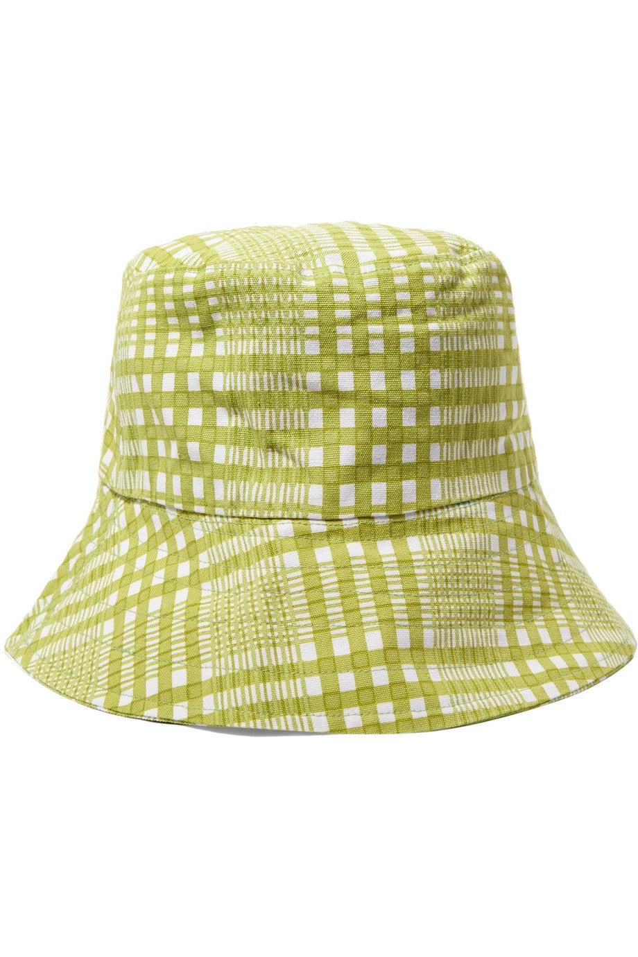 36dbf13a3 Checked Cotton-canvas Bucket Hat