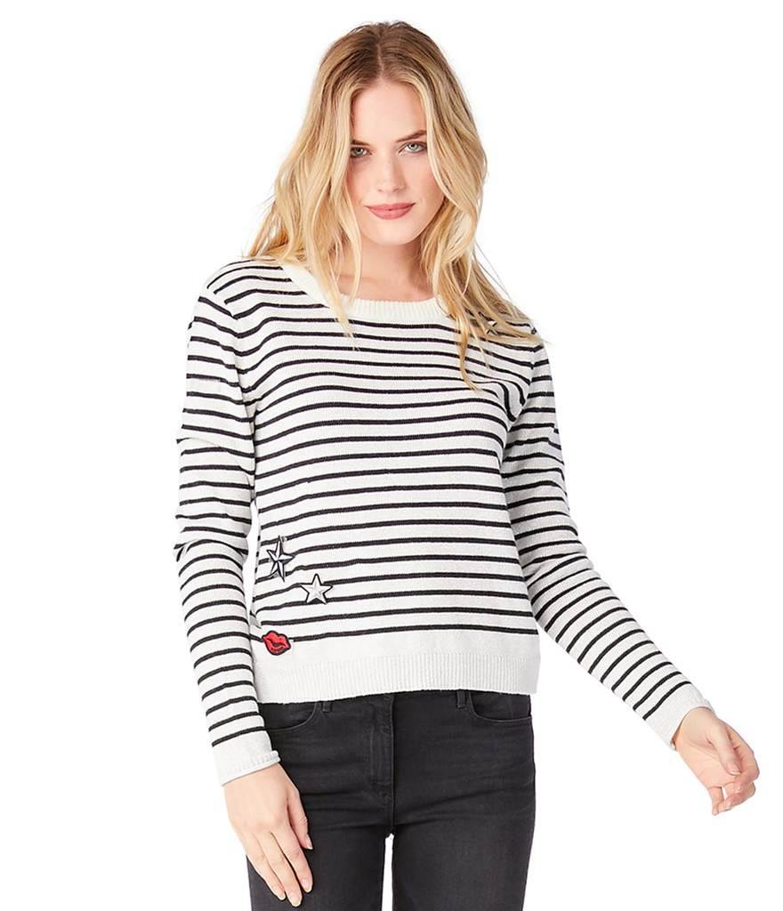 Michael Stars + Striped Crew Neck e7a01e2f0
