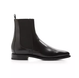bf3bcd1c5014 Thom Browne. Chelsea Boots In Calf Leather