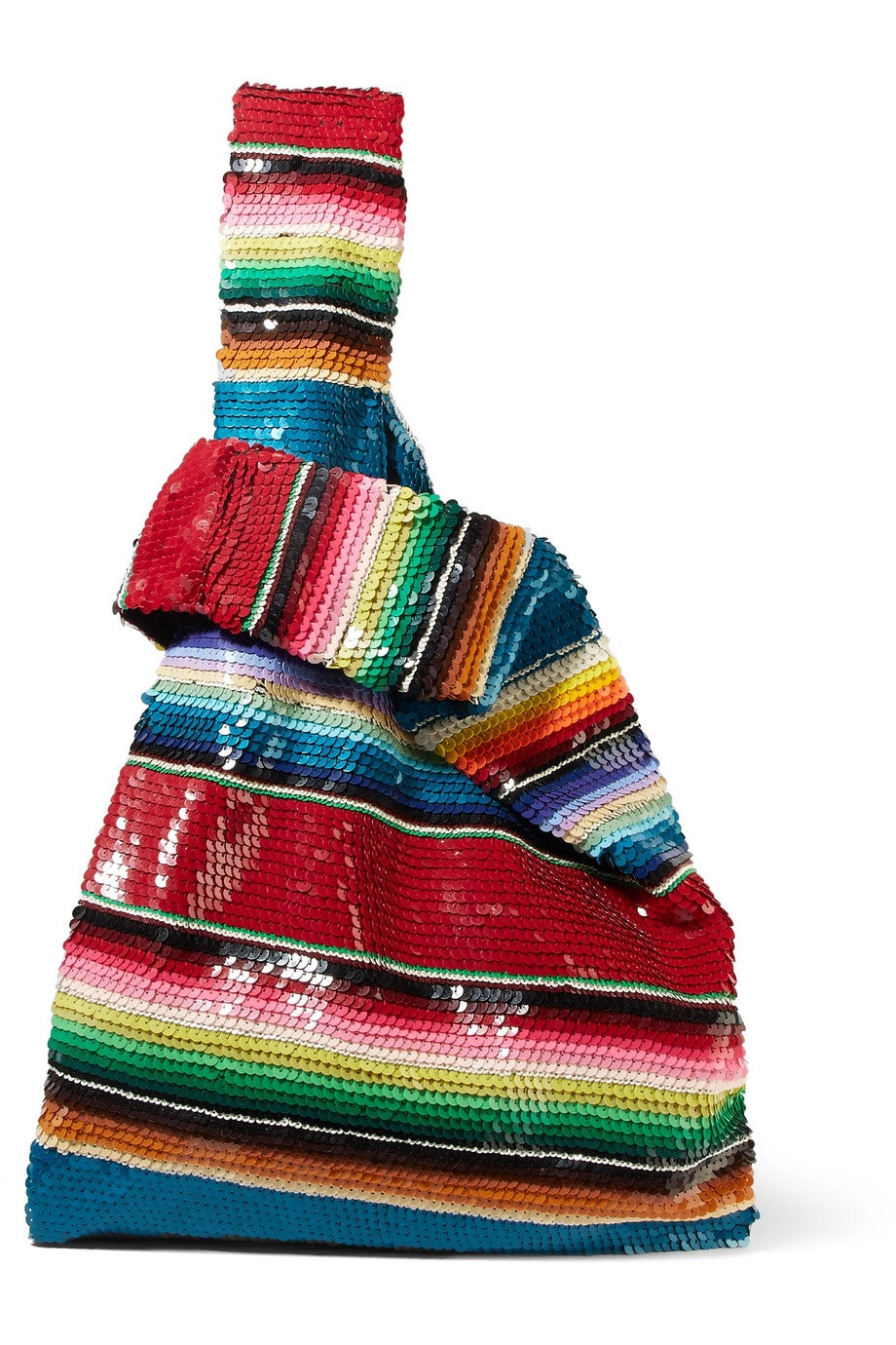 ae41519c Ashish + Rainbow Sequin Embellished Tote Bag